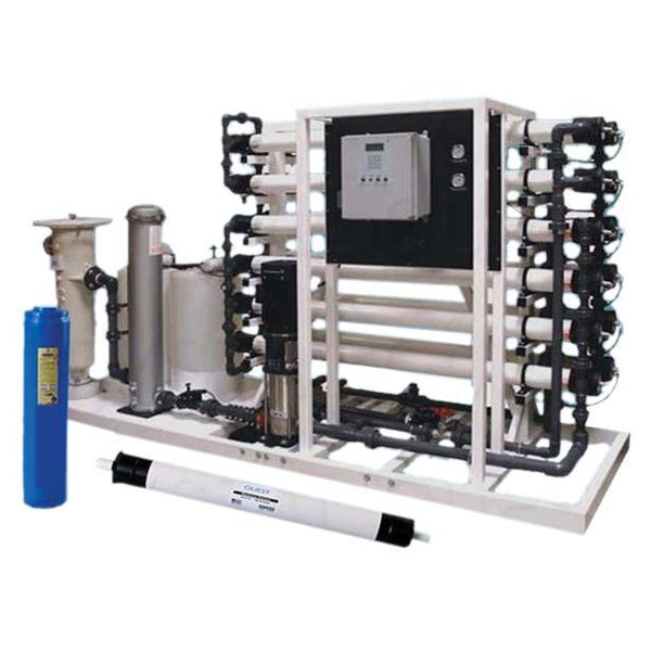Crystal Quest Heavy Commercial R O 40,000 GPD Filter System - PureWaterGuys.com