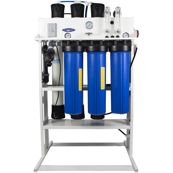 Crystal Quest Commercial Reverse Osmosis 5,000 GPD Water Filter System - PureWaterGuys.com