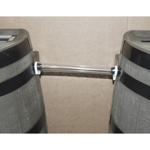 "RTS - RAIN BARREL -Link Kit 12"" Piece of 1"" Clear Hose - PureWaterGuys.com"