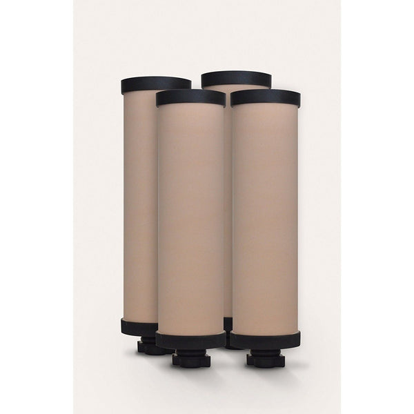 AquaRain 4-Pack Ceramic Filter Elements Replacement - PureWaterGuys.com