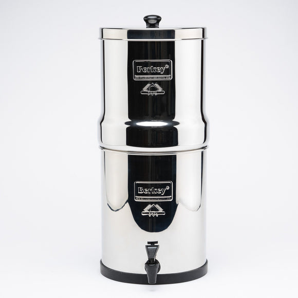 Big Berkey BK4X2-BB Countertop Water Filter System With 2 Black Purification Elements - PureWaterGuys.com
