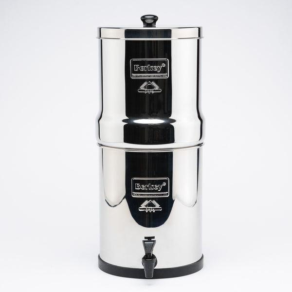 Big Berkey BK4X4-BB Countertop Water Filter System With 4 Black Purification Elements - PureWaterGuys.com