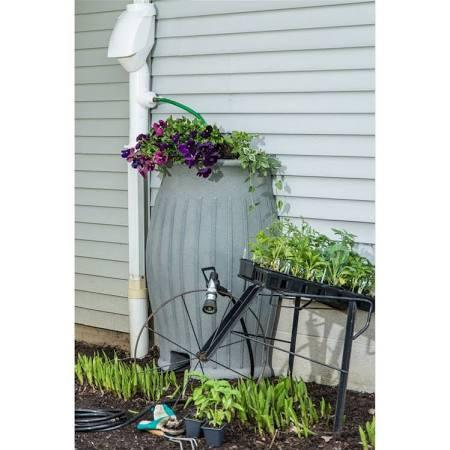 Black Diamond-25110-GN-BDKIT 110 Gallon Rain Barrel- Green - PureWaterGuys.com
