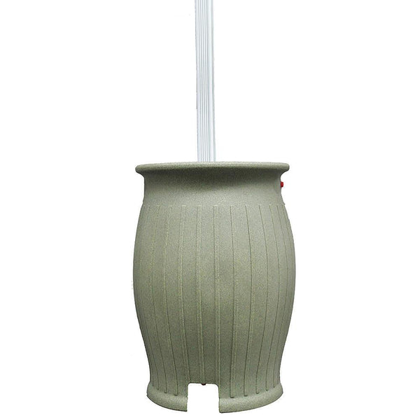 Black Diamond-2555-SS-DIKIT 55 Gallon Rain Barrel- Sandstone - PureWaterGuys.com