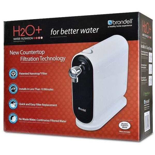 Brondell Cypress Countertop-H630 Water Filtration System - PureWaterGuys.com