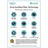Brondell-UF-35 H2O+ Coral Three-Stage Replacement Filter Set - PureWaterGuys.com