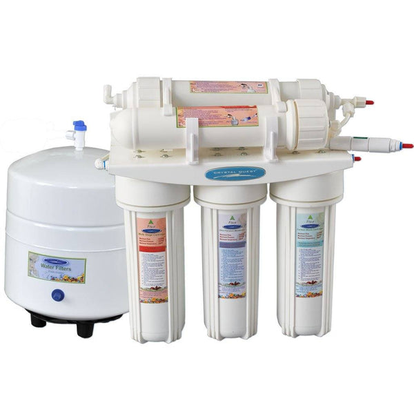 Crystal Quest 12 Stage Reverse Osmosis Under Sink Water Filter 2000C - PureWaterGuys.com