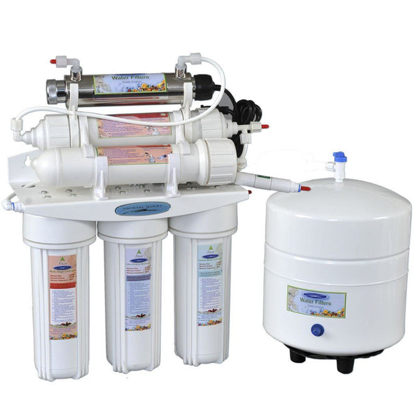 Crystal Quest 13 Stage Reverse Osmosis Under Sink Water Filter-3000C - PureWaterGuys.com