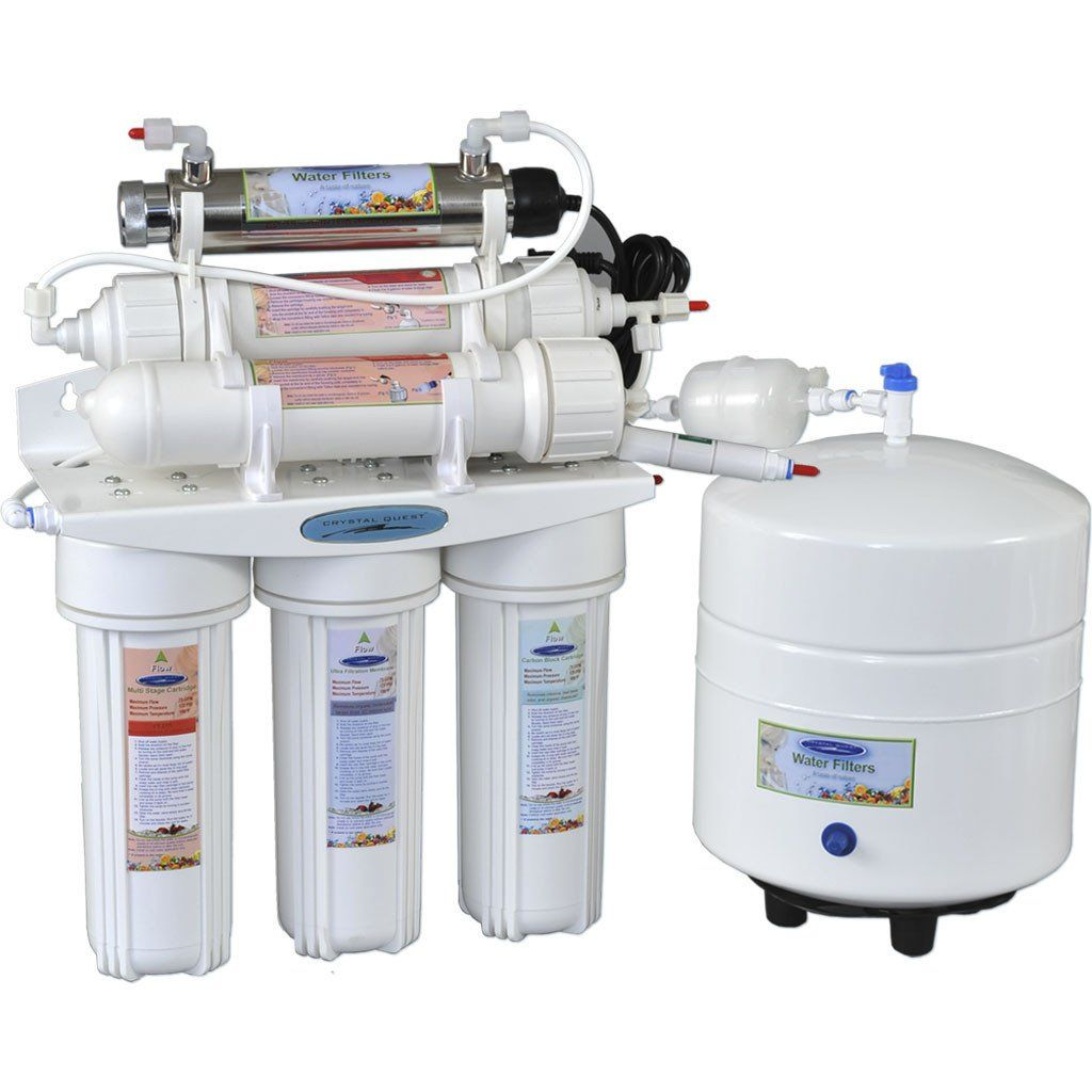 Crystal Quest 50 Thunder Reverse Osmosis Under Sink Water Filter-4000C - PureWaterGuys.com
