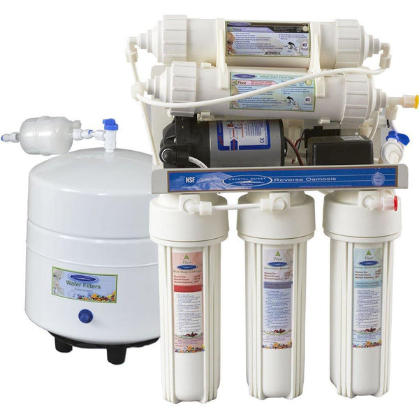 Crystal Quest 13 Stage Under Sink Reverse Osmosis 2000CP - PureWaterGuys.com