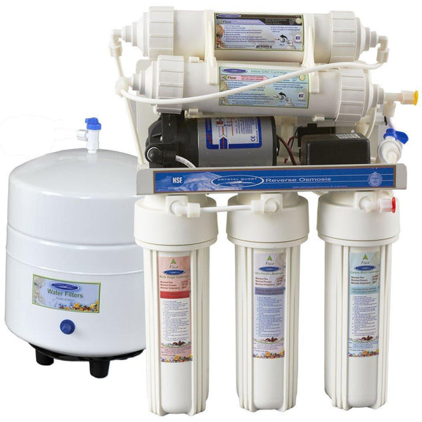Crystal Quest 13 Stage Reverse Osmosis Under Sink Water Filter-3000CP - PureWaterGuys.com