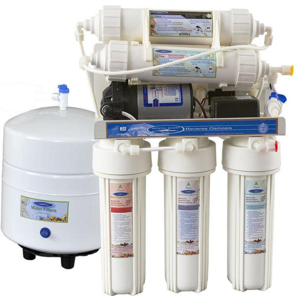 Crystal Quest 14 Stage Under Sink Reverse Osmosis 1000MP - PureWaterGuys.com