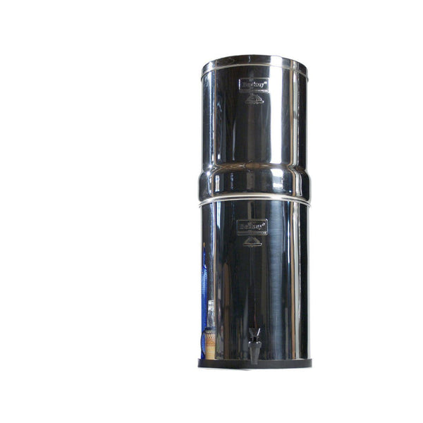 Crown Berkey CRN8X4-BB Countertop Water Filter System With 4 Black Purification Elements - PureWaterGuys.com