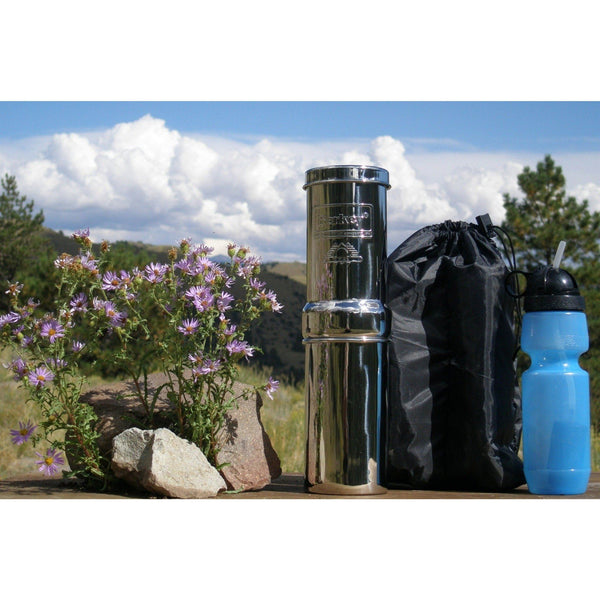 Go Berkey Kit GOBK-KIT Countertop Water Filter System With 1 Black Purification Elements - PureWaterGuys.com