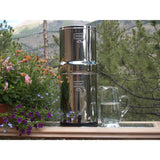 Imperial Berkey IMP6X2-BB Countertop Water Filter System With 2 Black Purification Elements - PureWaterGuys.com