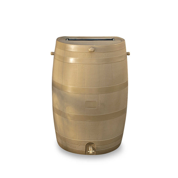RTS - RAIN BARREL - FLAT BACK 50 Gallons - 190L - PureWaterGuys.com