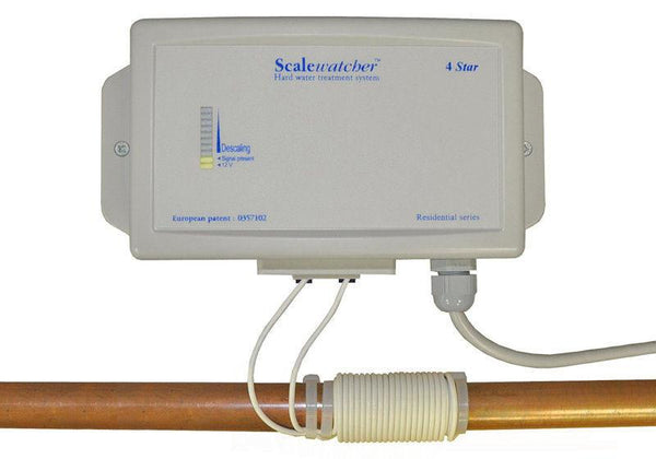 Scalewatcher 4 Star Electronic Water Softener Conditioner - PureWaterGuys.com