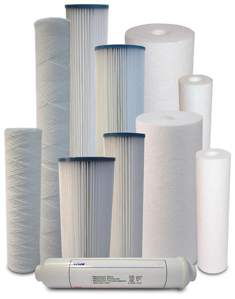SEDIMENT WATER FILTERS - MELT-BLOWN, POLYPROPYLENE & IN-LINE - PureWaterGuys.com