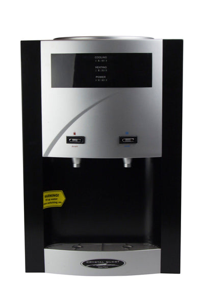 Crystal Quest Countertop Turbo 5-Stage Water Cooler - PureWaterGuys.com