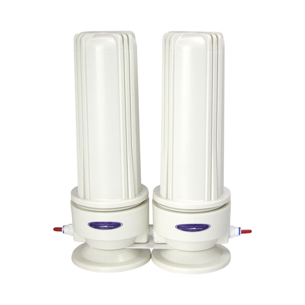 Crystal Quest Voyager Inline Double Replaceable PLUS Filter System - PureWaterGuys.com