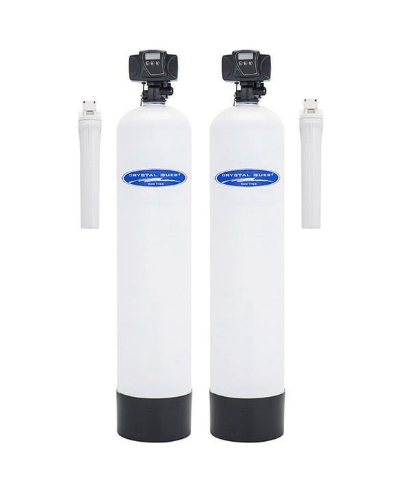 Crystal Quest Acid Neutralizing and Multistage Whole House Water Filter System 1.5 Cu. Ft./750,000 Gallon Capacity - PureWaterGuys.com