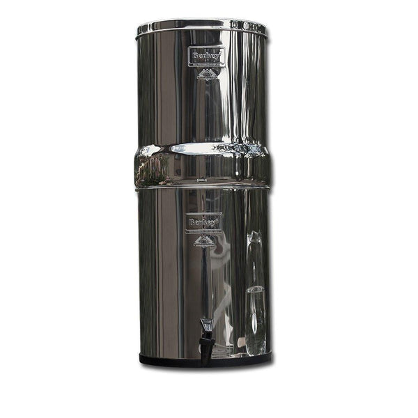 Imperial Berkey  IMP6X6-BB Countertop Water Filter System With 6 Black Purification Elements - PureWaterGuys.com