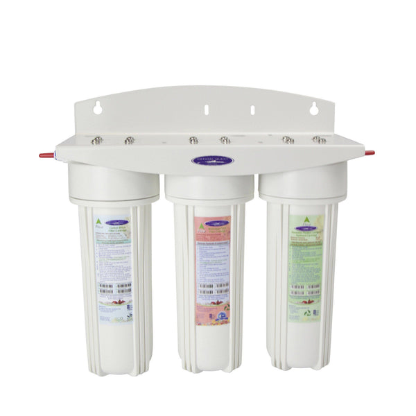 Crystal Quest Commercial Triple Inline Water Filter - PureWaterGuys.com