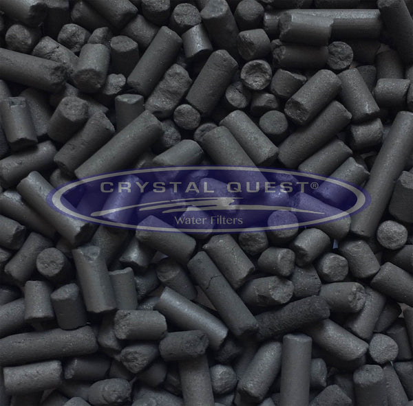 Crystal Quest Pelletized Charcoal Granulated Activated Carbon - PureWaterGuys.com