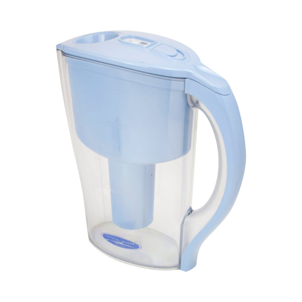Crystal Quest Pitcher Water Filter System White - PureWaterGuys.com