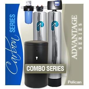 Pelican Premium Whole House Water Filter & Salt Softener PAC3 1-3 Baths - PureWaterGuys.com