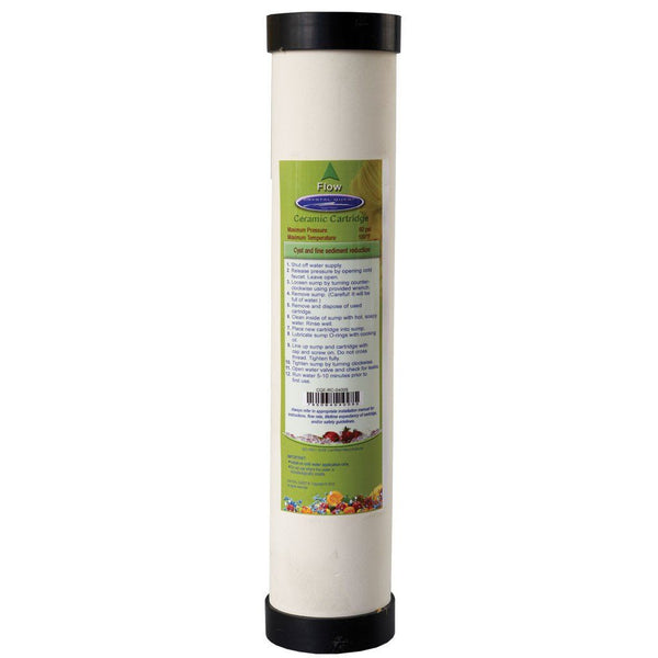 "Crystal Quest 2-7/8"""" x 9-3/4"""" Ceramic Filter Cartridge"