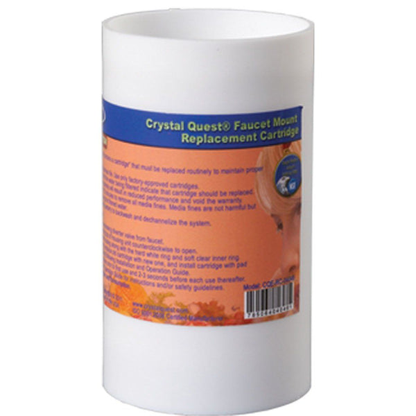 Crystal Quest Faucet Mount Filter Cartridge - PureWaterGuys.com
