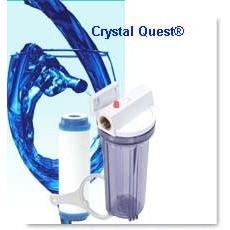 "Crystal Quest Commercial 10"" Inline Water Filter - PureWaterGuys.com"
