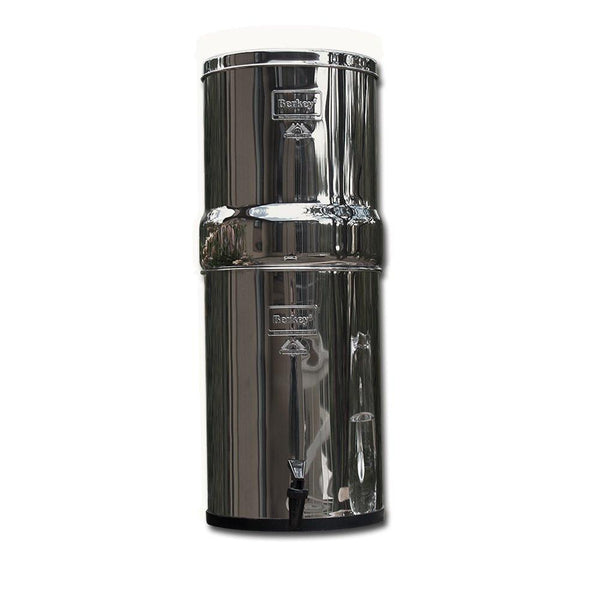 Royal Berkey RB4X4-BB Countertop Water Filter System With 4 Black Purification Elements - PureWaterGuys.com