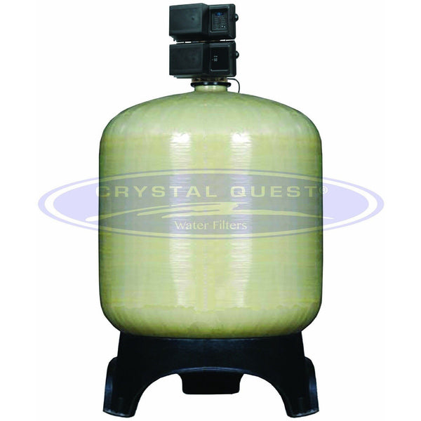 Crystal Quest Commercial 205 GPM Turbidity Water Filter System - 40 cu. ft. - PureWaterGuys.com