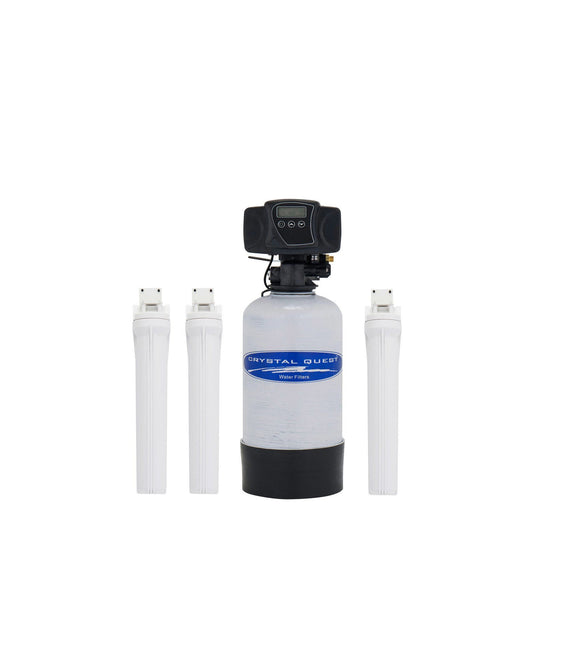 Crystal Quest Eagle 1000-FG Mid-Size Whole House Water Filter System with Manual Backwash - PureWaterGuys.com