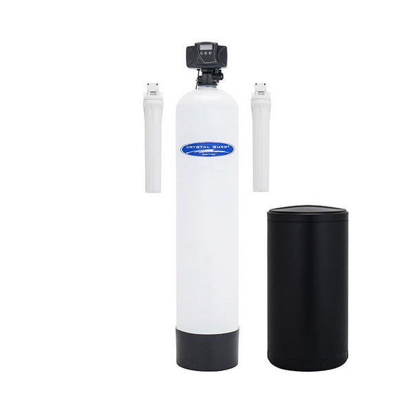 Crystal Quest Water Softener 48,000 Grain Capacity W/ Pre & Post Filter - PureWaterGuys.com