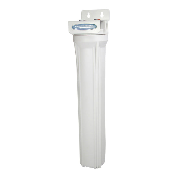 "Crystal Quest Commercial 20"" Single Cartridge Water Filter - PureWaterGuys.com"