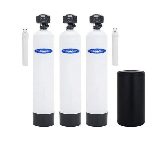 Crystal Quest Acid Neutralizing Softener & Whole House Water Filter System - PureWaterGuys.com