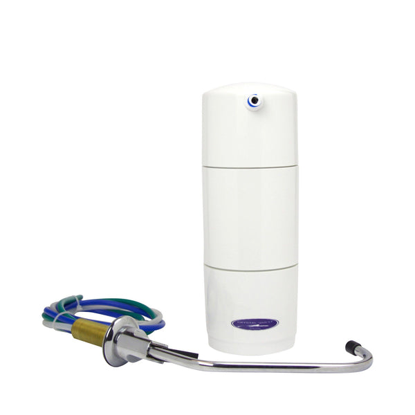 Crystal Quest Classic Disposable Undersink PLUS Water Filter System - PureWaterGuys.com