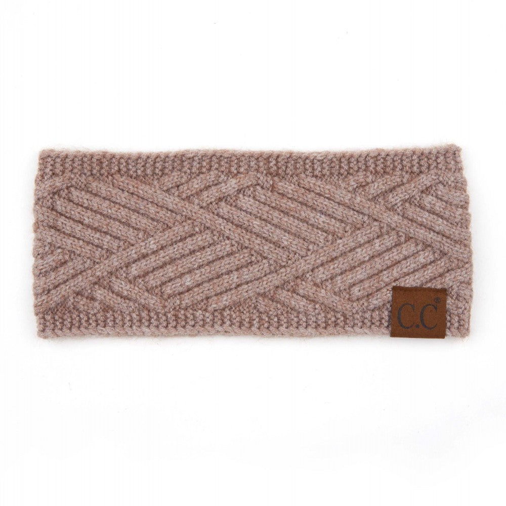 Head Wrap - Light Taupe Mix