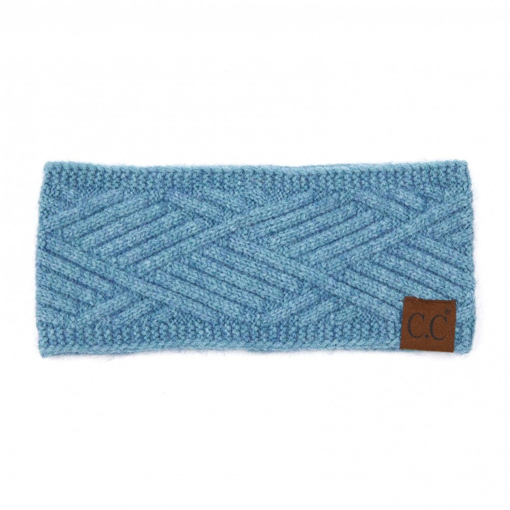 Head Wrap - Steel Blue Mix