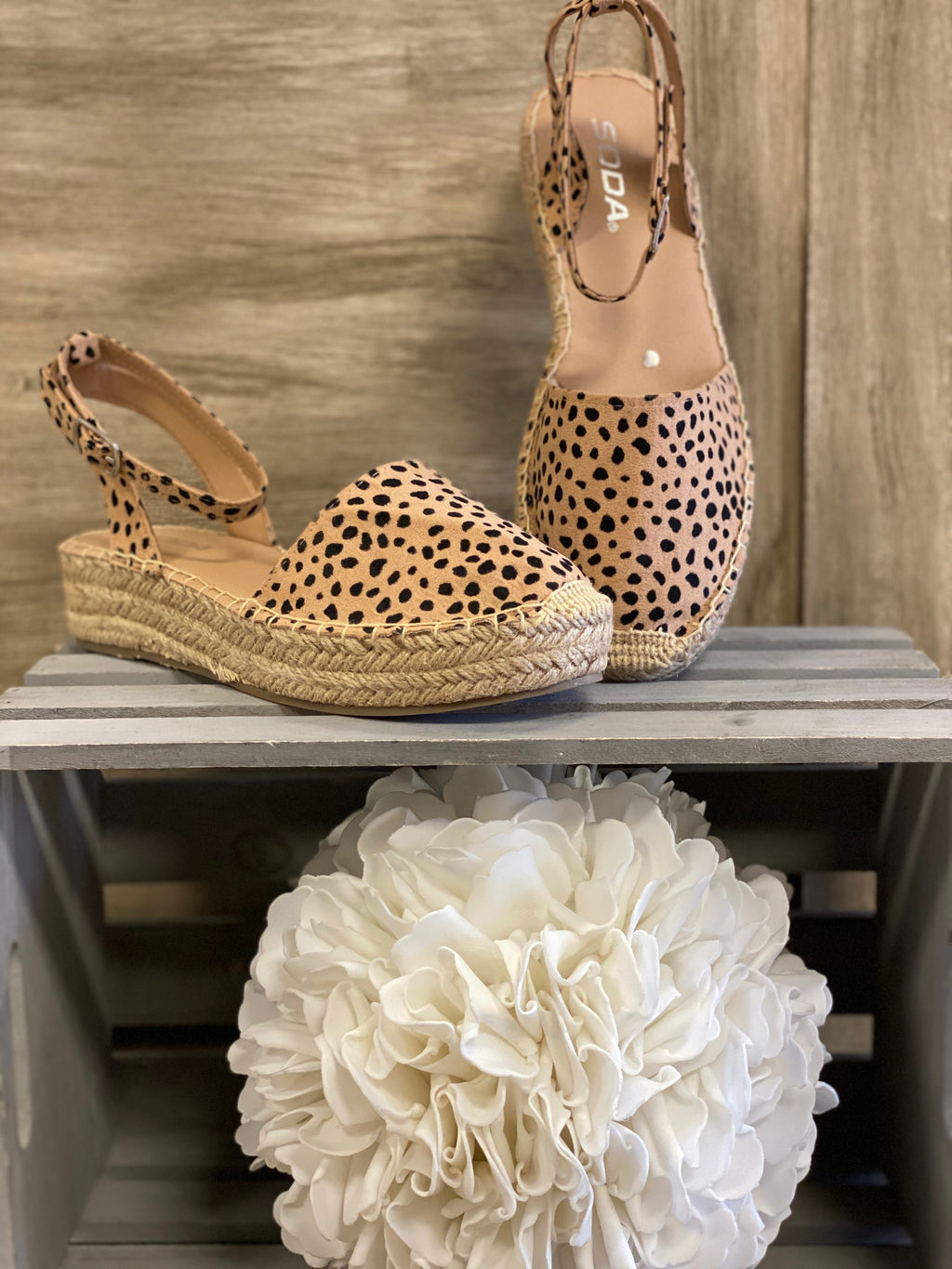 Platform Espadrille-Natural Cheetah
