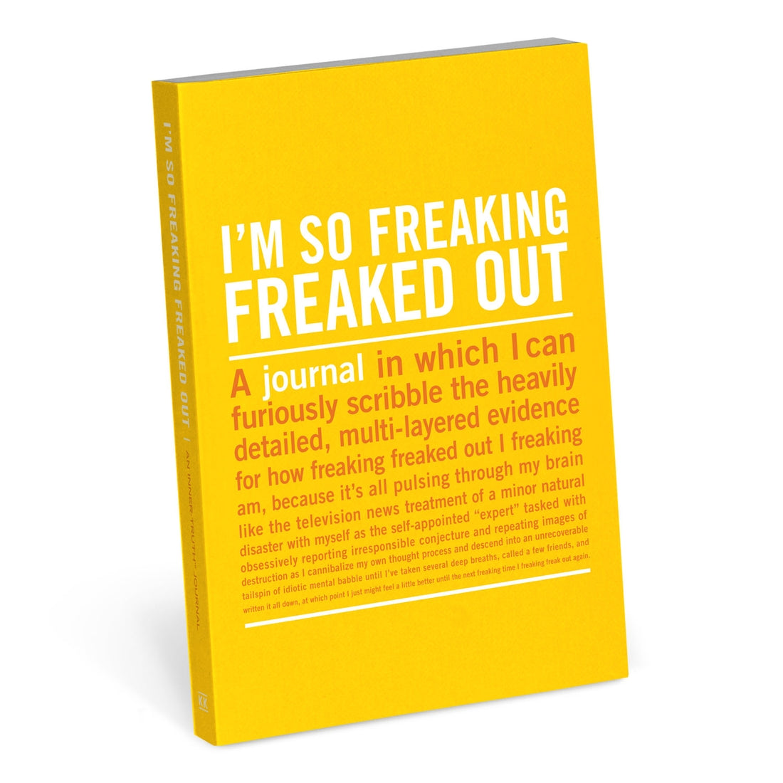 I'm So Freaking Freaked Our Mini Inner-Truth Journal