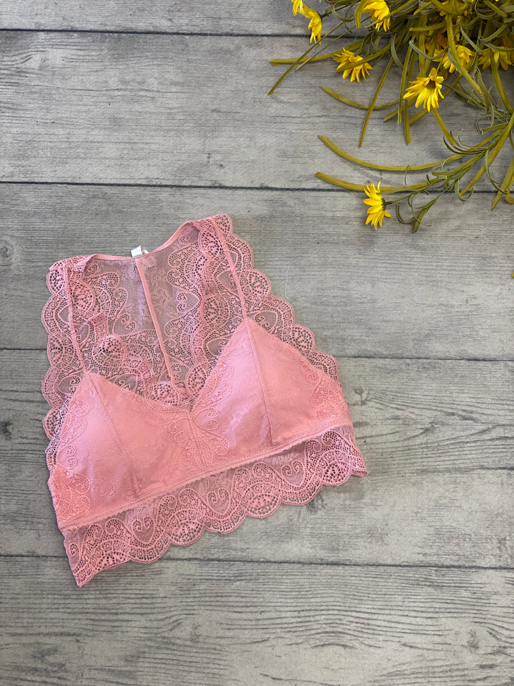 Bralette-Dusty Pink
