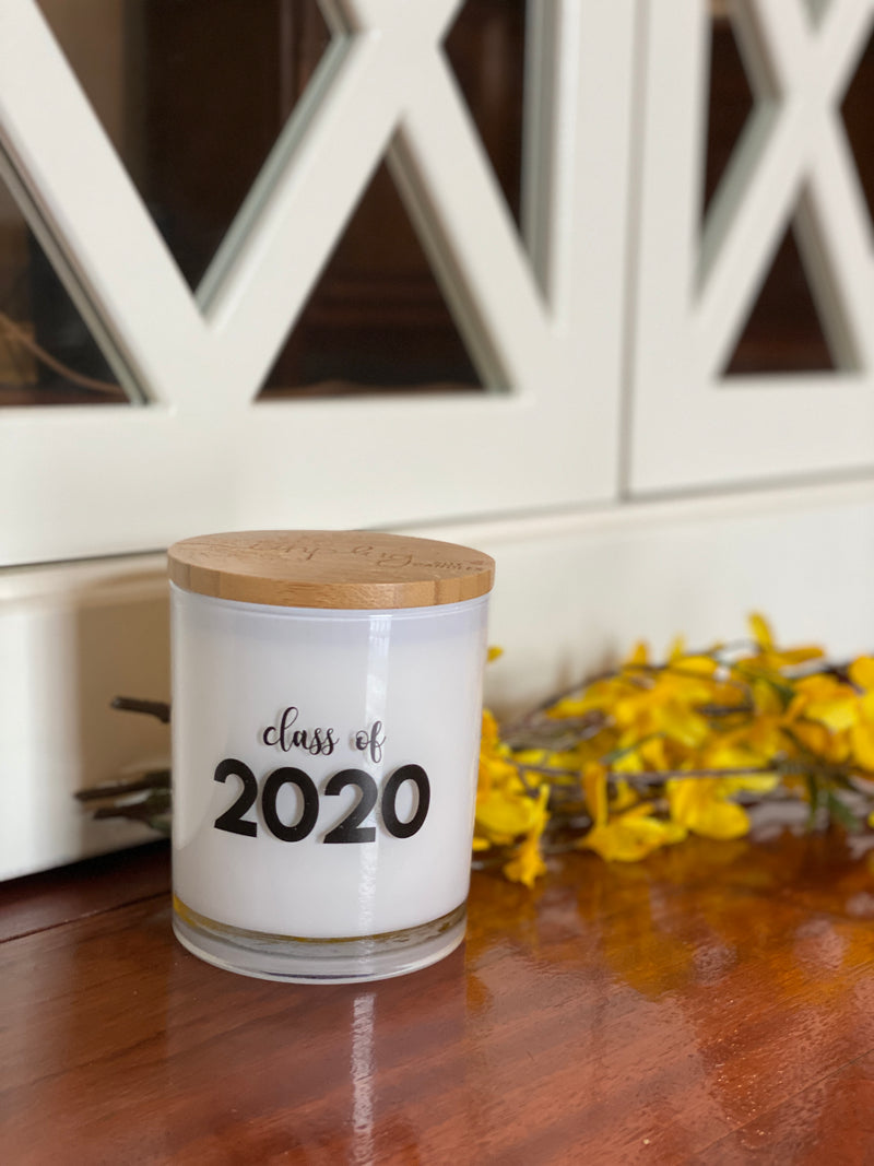 Class of 2020 Candle