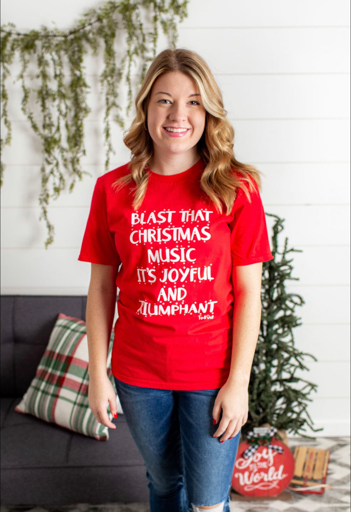 Blast That Christmas Music Tee