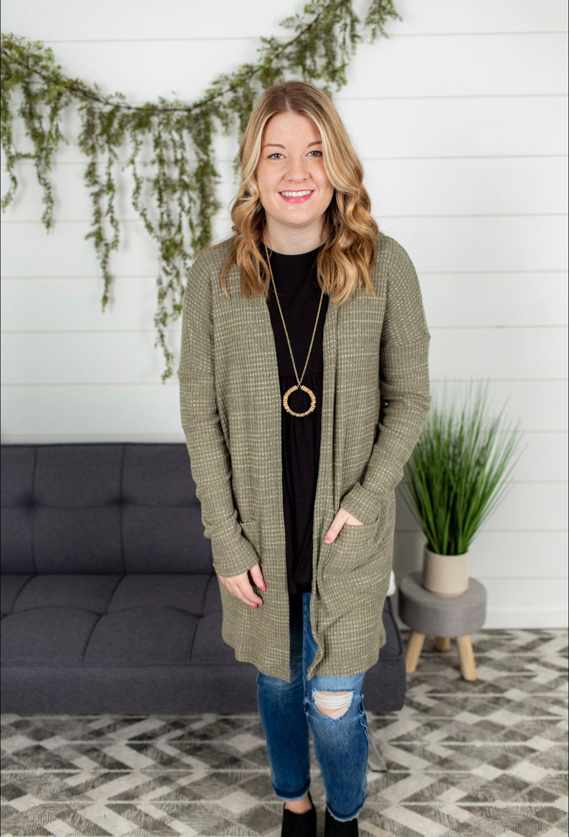Open Front Duster/Cardigan