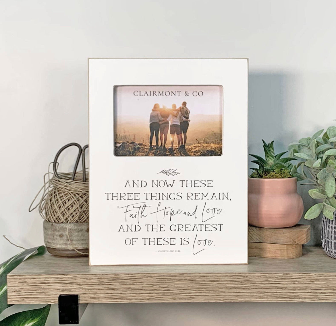 Things that Remain -  4x6 Photo Frame