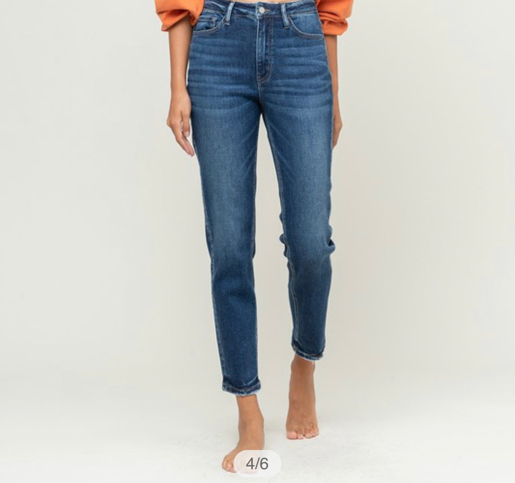 River Run Denim - Mom Jean